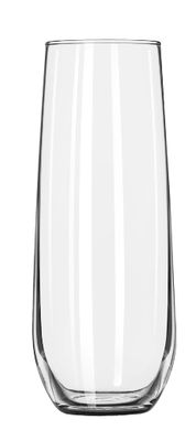 GLASS STEMLESS FLUTE 251ML, LIBBEY VINA