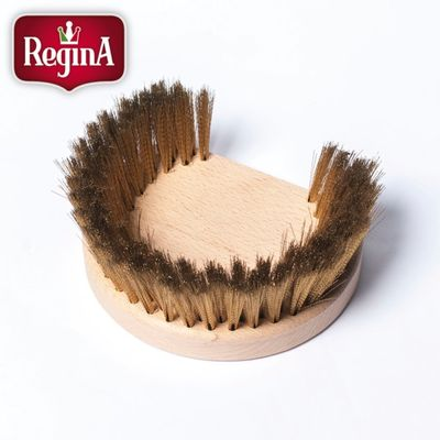 BRUSH BRASS BRISTLE ROUND 160MM, REGINA