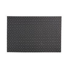 PLACEMAT RECT BLACK GYPSY 43X30CM, M&W