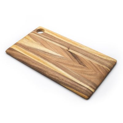 BOARD RECT BLONDE 46X25.5CM, IRONWOOD