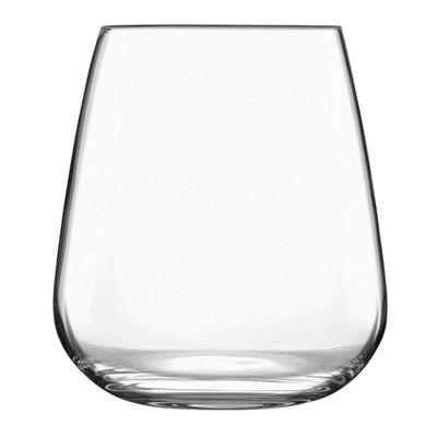 WINE GLASS STEMLESS 450ML LUIGI IL MERAV