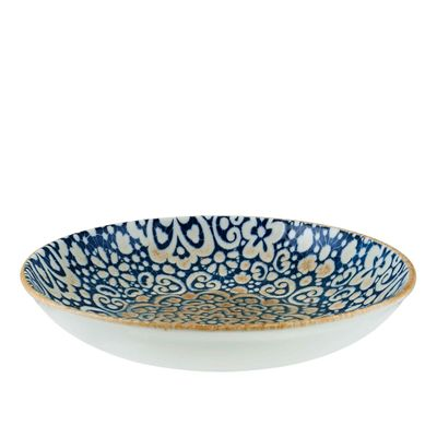 BOWL FLARED BLUE 250MM, BONNA ALHAMBRA