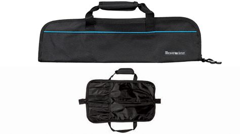 KNIFE ROLL 5 POCKET BLACK, MESSERMEISTER