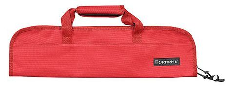 KNIFE ROLL 5 POCKET RED, MESSERMEISTER
