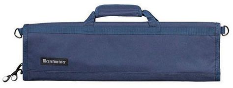 KNIFE ROLL 8 POCKET NAVY, MESSERMEISTER