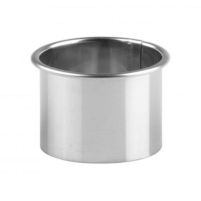 CHEF INOX STAINLESS STEEL PLAIN CUTTERS