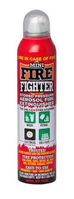 EXTINGUISHER 250ML, MINI FIREFIGHTER