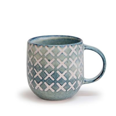 MUG OCEAN CROSS 380ML, S&P NAOKO
