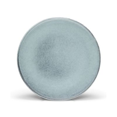 PLATE ROUND BLUE/GREY 20CM, S&P RELIC