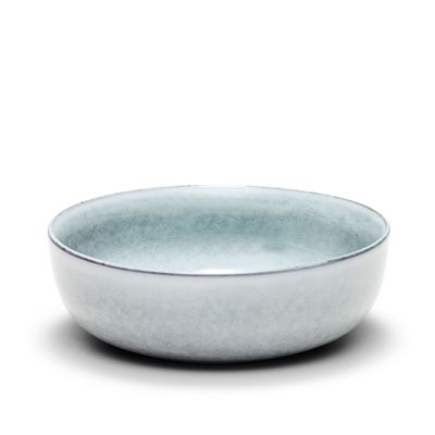 BOWL BLUE/GREY 18X6CM, S&P RELIC