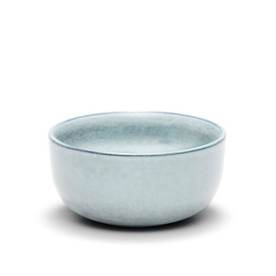 BOWL BLUE/GREY 14X7CM, S&P RELIC