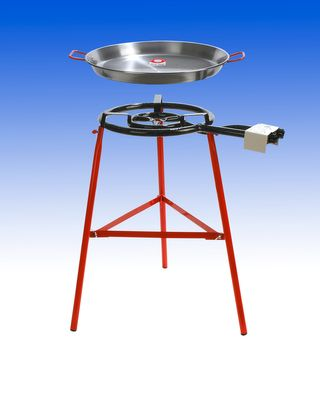 PAELLA SET 50CM PAN & GAS BURNER,TABARCA