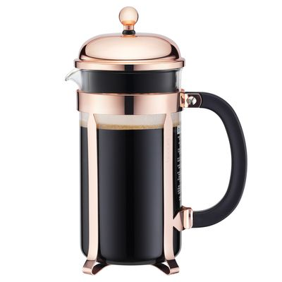 COFFEE PLUNGER COPPER 8CUP/1L, CHAMBORD
