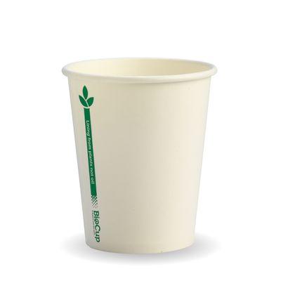 SINGLE WALL CUP BIOPAK GREEN LINE