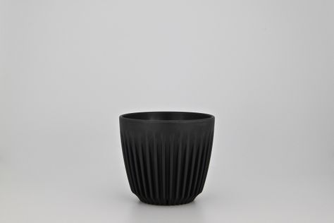 CUP CHARCOAL 6OZ, HUSKEE CUP