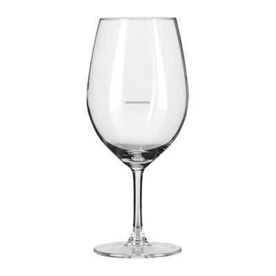 GLASS WINE WITH LINE 530ML, LIBBEY CUVEE