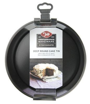 CAKE PAN DEEP RND LOOSE BTM 20CM, TALA