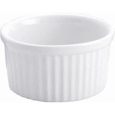 DISH SOUFFLE WHITE, VITROCERAM