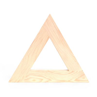 TRIVET TRIANGLE HARD MAPLE, KAKURO