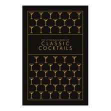 COOKBOOK BLACK BOOK OF CLASSIC COCKTAILS
