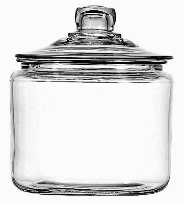 JAR HERITAGE W/LID 21X17.5CM 3LT, ANCHOR