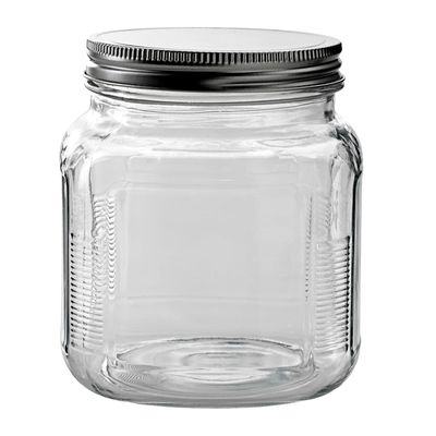 JAR W/SCREW LID 14X11CM 1LT, ANCHOR