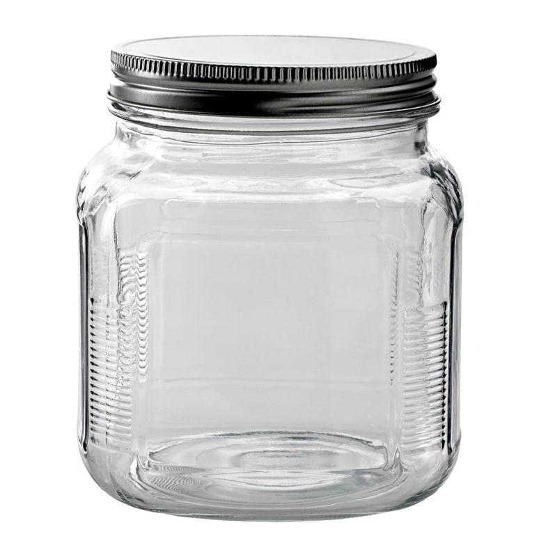 JAR W/SCREW LID 14X11CM 1LT, ANCHOR