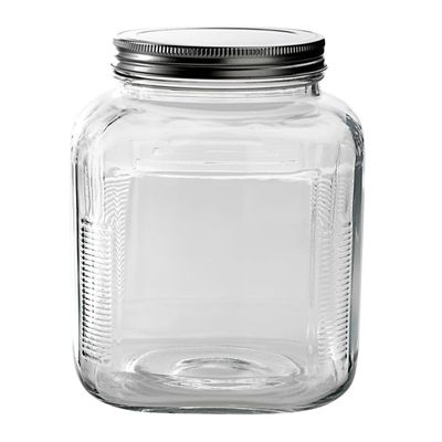 JAR W/SCREW LID 21X16CM 3.8LT, ANCHOR