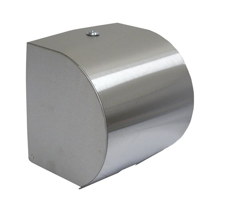 DISPENSER PAPER TOWEL ROLL S/ST, NAB