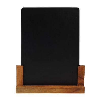 BLACKBOARD W/STAND A4, WILD WOOD