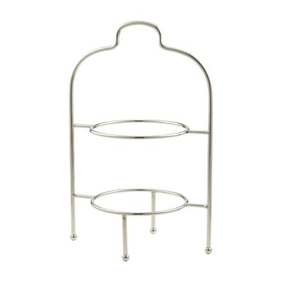 PLATE STAND 2 TIER 32.5X21.5X50CM, D&W