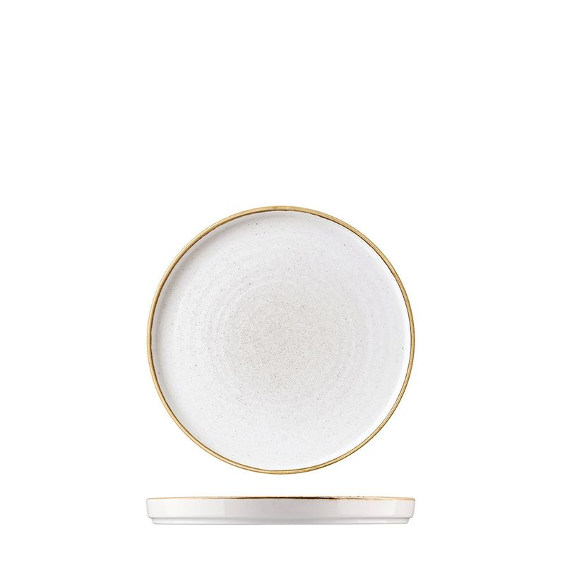 PLATE WALLED WHT 210MM, C/HILL STONECAST