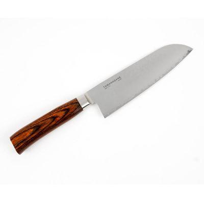 KNIFE SANTOKU 180MM, TAMAHAGANE SAN