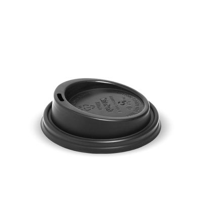 COFFEE CUP LID PLA 8OZ (80MM), BIOPAK