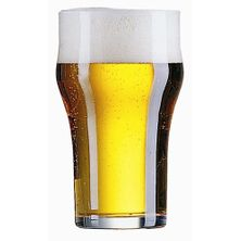 GLASS BEER NONIC 570MLTEMPERED ARC
