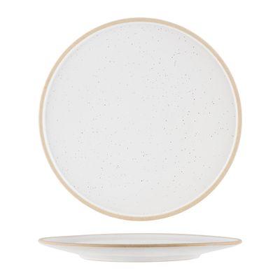 PLATE WHITE PEBBLE 200MM, TK SOHO