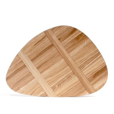 ROCK BOARD NO2 470X405MM, WHITE OAK