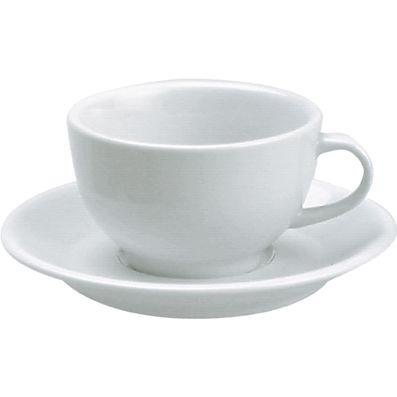 CUP CAPPUCCINO WHITE 230ML, VITROCERM