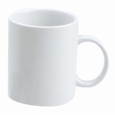 MUG COFFEE WHITE 350ML, VITROCERAM