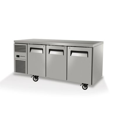 UNDERCOUNTER FRIDGE 3 DOOR SOLID SKOPE