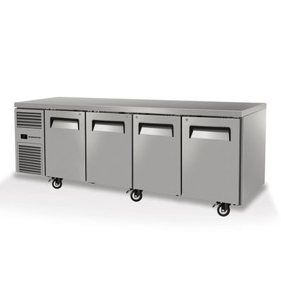 UNDERCOUNTER FRIDGE 4 DOOR SOLID SKOPE