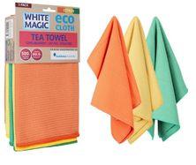 TEA TOWEL CITRUS 3PK,WHITE MAGIC