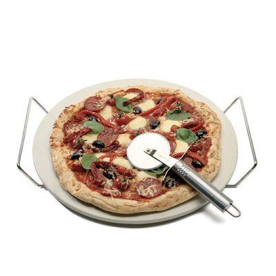 PIZZA STONE SET 3 PCE ROUND, D&W NAPOLI