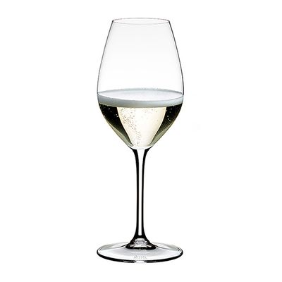 GLASS CHAMPAGNE SET OF 4, RIEDEL