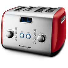 TOASTER RED 4 SLICE KMT423, KITCHENAID