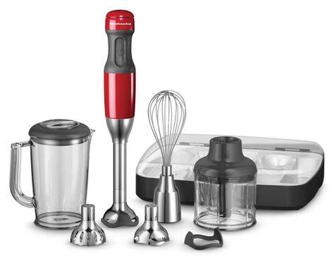 BLENDER HAND EMPIRE RED, KITCHENAID