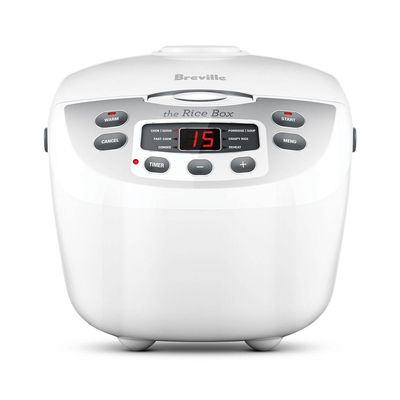 RICE COOKER10-CUP SMART BOX, BREVILLE