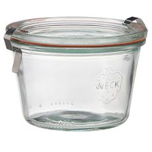 JAR GLASS COMPLETE 80ML/60X55MM, WECK