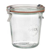 JAR GLASS COMPLETE 140ML/60X70MM, WECK