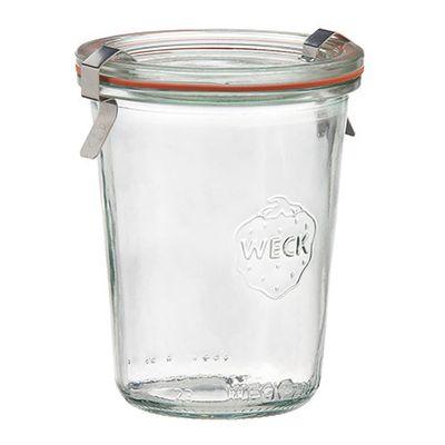 WECK JAR GLASS COMPLETE